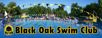 Black Oak Swim Club Logo