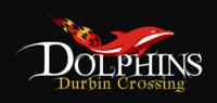 Durbin Crossing Dolphins Logo