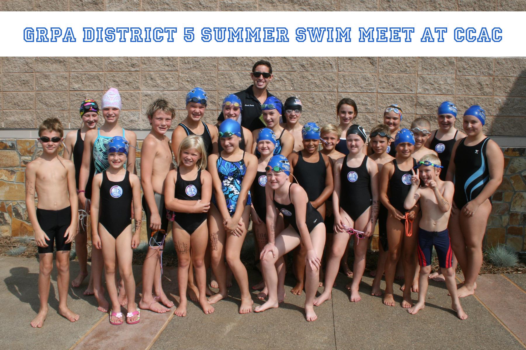 ohio district swim meet 2014