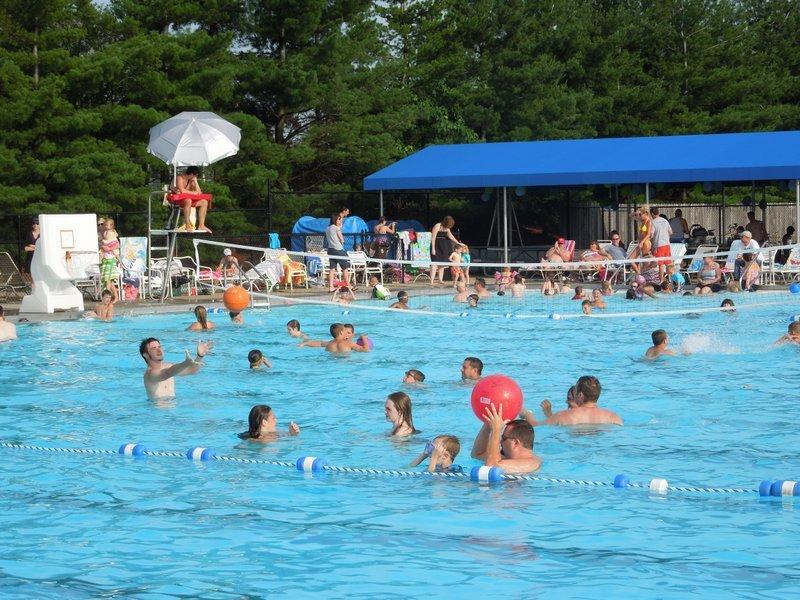 Family night at the Pickerington Community Pool.