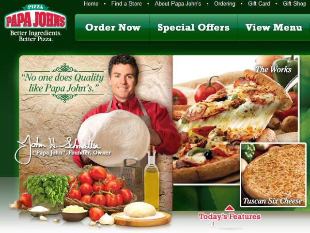 sponsor Papa Johns