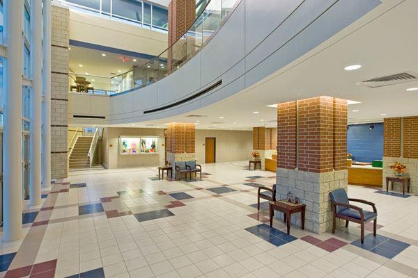 Conroe ISD Natatorium lobby