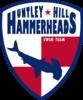 Huntley Hills Hammerheads Swim Team Logo