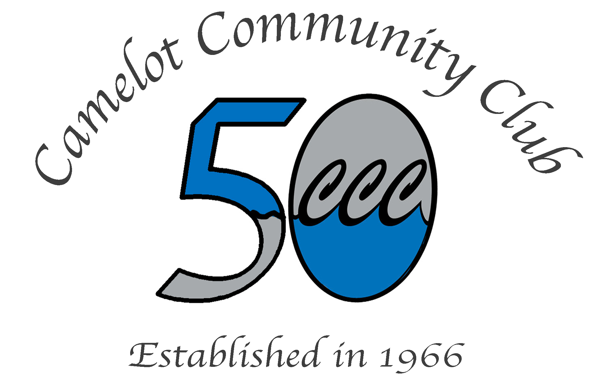 This summer, Camelot Community Club is celebrating 50 Years of Neighbors Becoming Friends.  We are celebrating all summer long! See our Calendar for exciting updates!