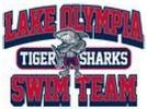 Lake Olympia Tiger Sharks Logo