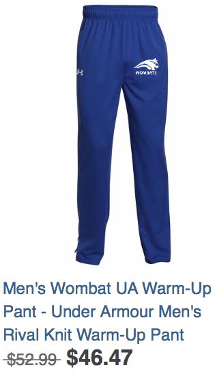 Men's Warm-up Pants