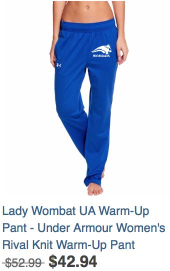 Lady Warm-up pants