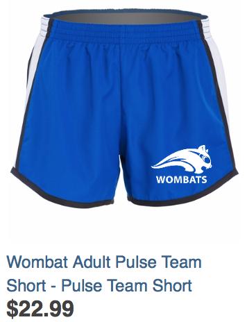 Adult Pulse Team Shorts