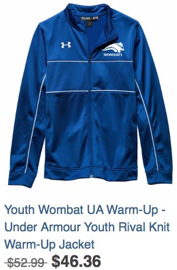 Youth Warm-up Jacket