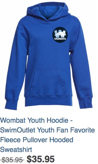 Youth Hoodie Blue