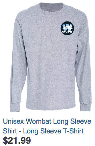 Unisex Long Sleeved Shirt