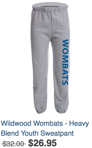 Youth Sweatpants Grey