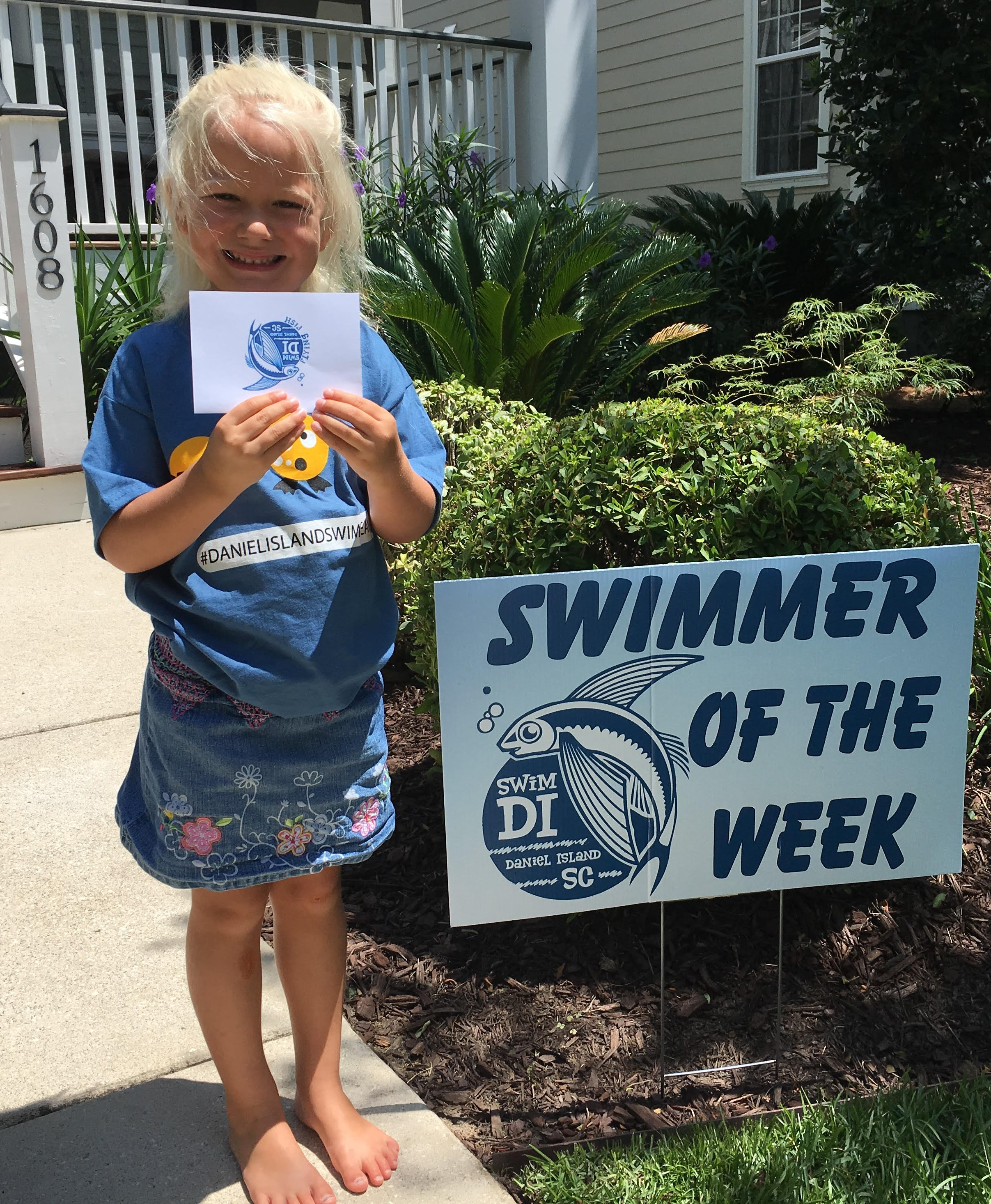 2017 Swimmer of the Week Ronel St. Germaine
