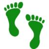Hamlet Green Feet Logo
