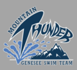 Genesee Mountain Thunder Swim Team Logo