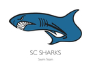 Shadow Cliff Sharks Logo