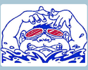 San Leandro Swim Team Logo